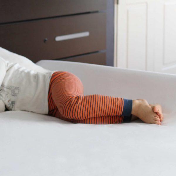Inflable Protección cama Bebé