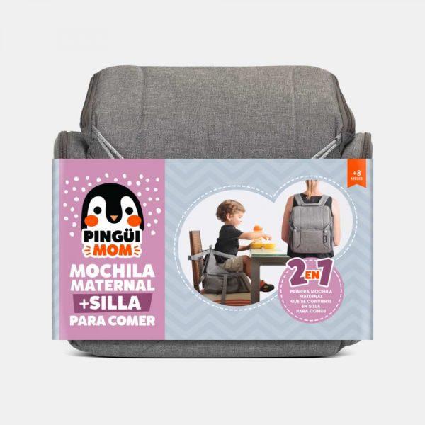 mochila y silla portátil para bebe